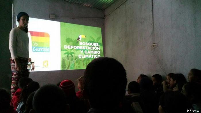 Taller de Yo cambio, de la asociación Provita, en Venezuela.