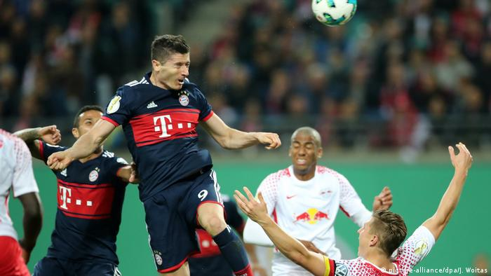 DFB-Pokal 2017/18 | RB Leipzig - Bayern München (picture-alliance/dpa/J. Woitas)