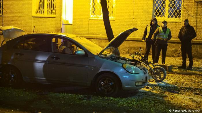 На місці вибуху у Києві
