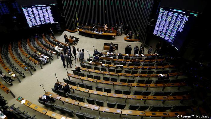 Câmara dos Deputados em 25 de outubro de 2017