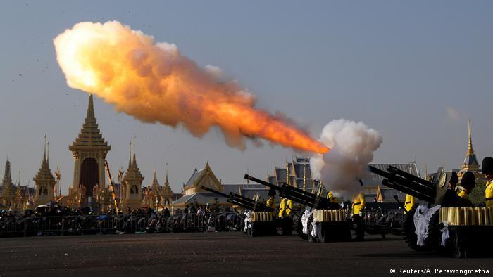 Thailand Einäscherungszeremonie von König Bhumibol (Reuters/A. Perawongmetha)