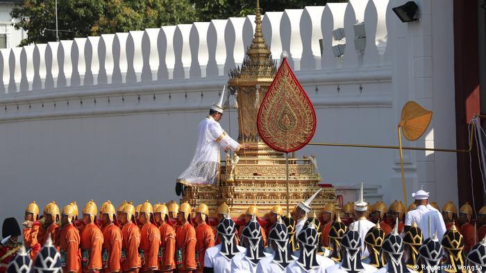 Thailand Einäscherungszeremonie von König Bhumibol (Reuters/K. Wongsa)