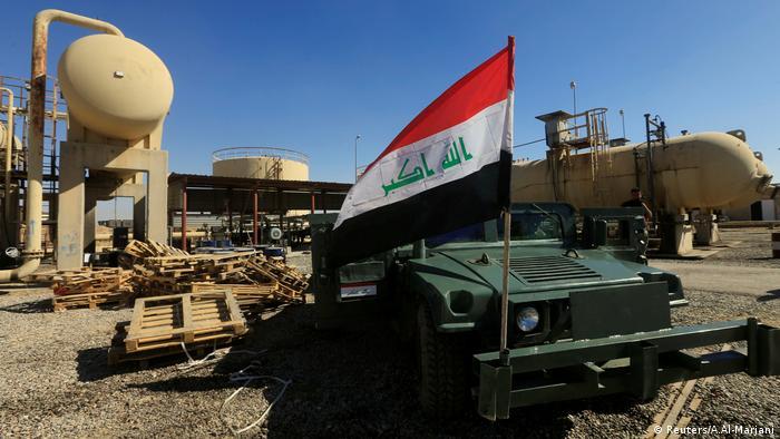 Irak Flagge Kirkuk (Reuters/A.Al-Marjani)