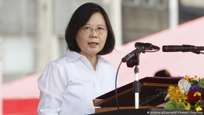 Tsai Ing-wen (picture-alliance/AP Photo/C.Ying-Ying)