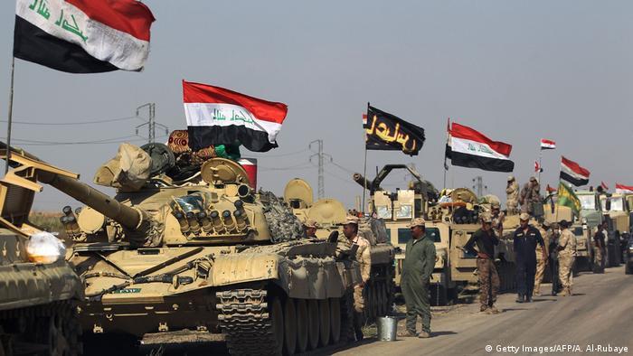 Irak - Kurden - Konflikt - Militäreinsatz (Getty Images/AFP/A. Al-Rubaye)