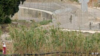 Mauer im Süden - Ceuta - Querformat