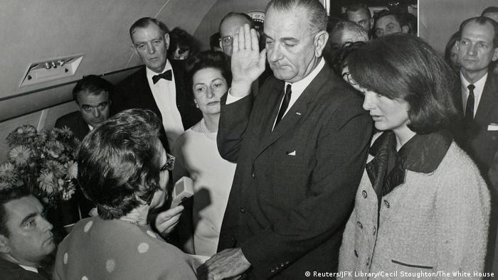USA JFK Dokumente - Vice President Lyndon Baines Johnson (Reuters/JFK Library/Cecil Stoughton/The White House)