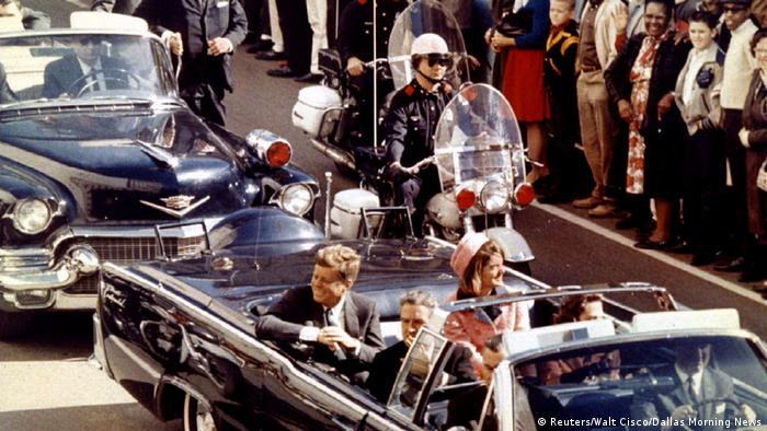 USA JFK Dokumente - Kennedy in Dallas