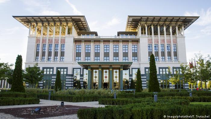 Türkei - Palast des tuerkischen Praesidenten in Ankara 2015