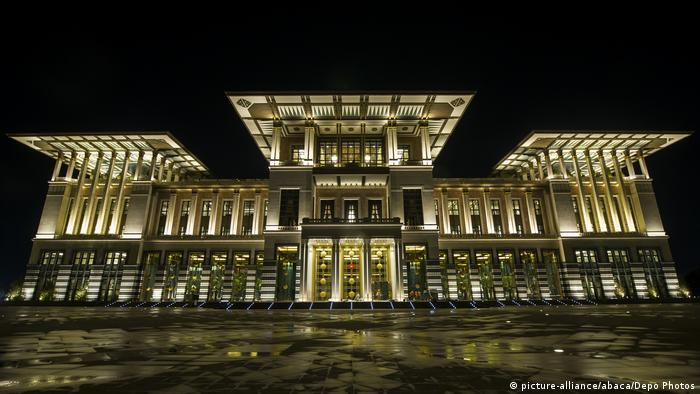 Der Bau des Präsidentenpalastes in Ankara hat fast eine halbe Milliarde Euro gekostet