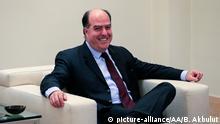 Spanien Präsident der venezolanischen Nationalversammlung Julio Borges