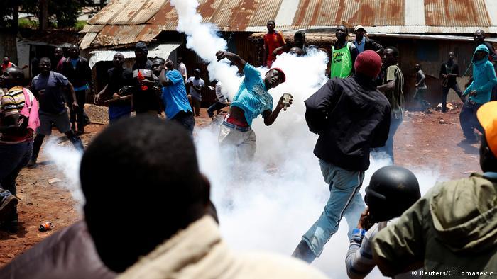 Kenia Wahlen - Ausschreitungen in Nairobi