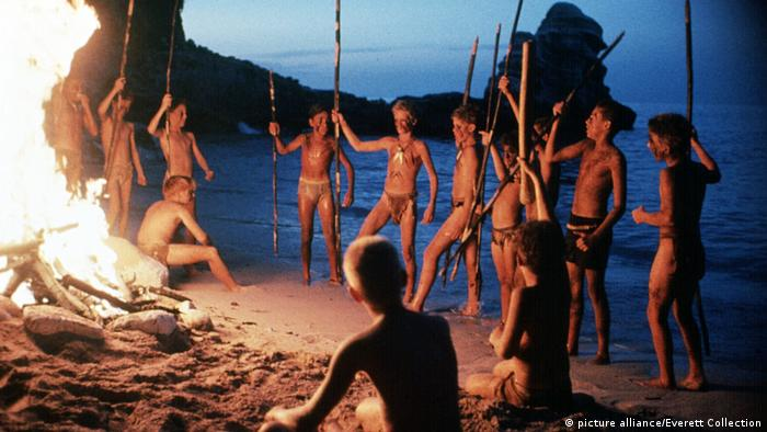 Szene aus dem Film Lord of the Flies 1990 (picture alliance/Everett Collection)