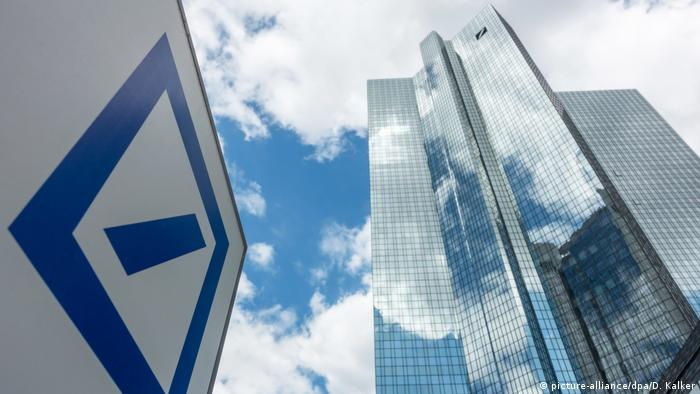 Deutsche Bank - Symbolbild (picture-alliance/dpa/D. Kalker)