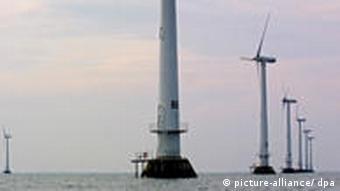 Ветропарк в открытом море