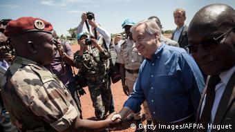 Zentralafrikanische Republik - UN-Generalsekretärs Antonio Guterres zu Besuch