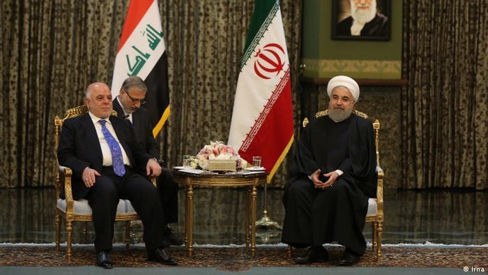 Iran Haider al-Abadi, Irak & Hassan Rohani (Irna)