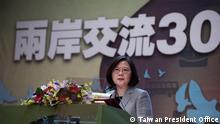 Taipei Taiwan - Taiwan President Tsai Ing-Wen