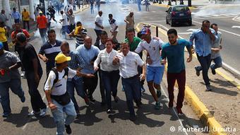 Protests in Maracaibo, Venezuela