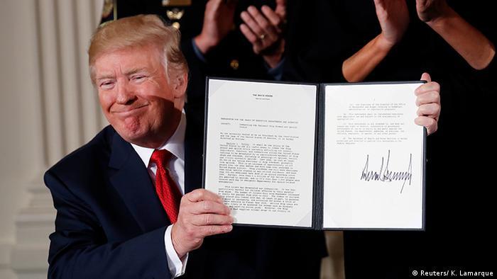 USA Präsident Donald Trump PK Gesundheitsnotstand Opioidkrise (Reuters/ K. Lamarque)