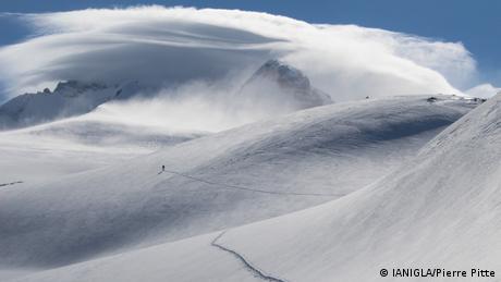 Glacier Tronador, Argentina