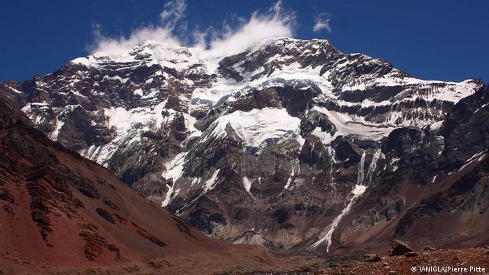 Aconcagua, andes argentinos (IANIGLA/Pierre Pitte)
