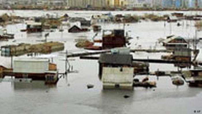 Hochwasser in Russland (AP)