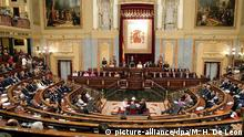 Spanien - Parlament in Madrid
