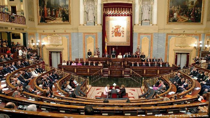 Spanien - Parlament in Madrid (picture-alliance/dpa/M. H. De Leon)