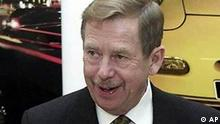 Tschechischer Präsident Vaclav Havel