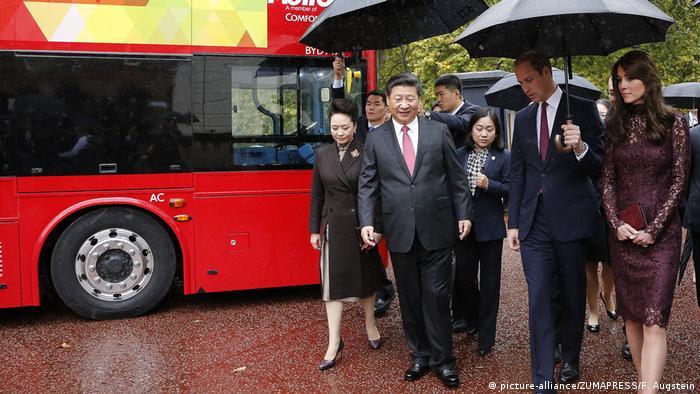 Großbritannien London - Xi Jinping auf Staatsbesuch mit Kate und William
