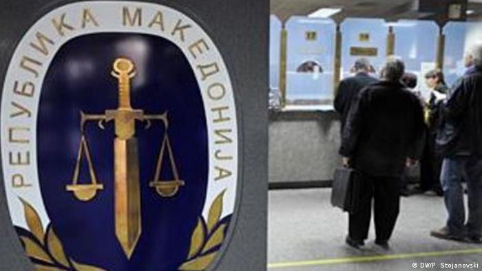 Mazedonien Justiz Amtsgericht (DW/P. Stojanovski)