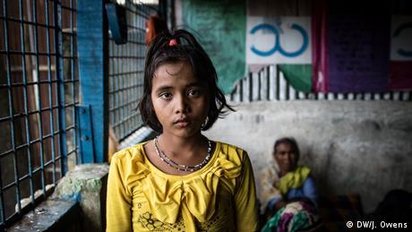 Rohingya-Kinder auf der Flucht: 2 Haunted by the trauma (DW/J. Owens)