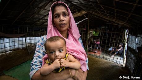 Rohingya-Kinder auf der Flucht: 7 'My mind is not normal' (DW/J. Owens)