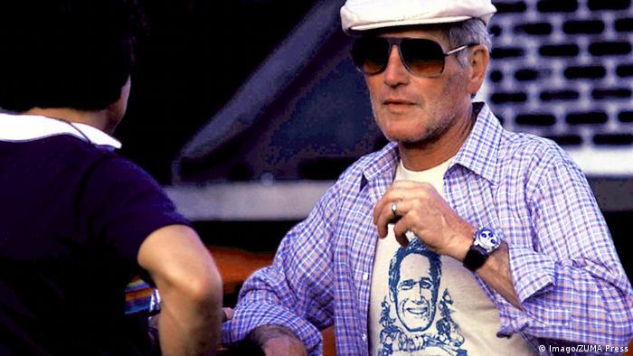 Paul Newman wearing the auctioned Rolex Daytona model (Imago/ZUMA Press)