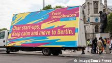 FDP - Wahlwerbung in London 2016