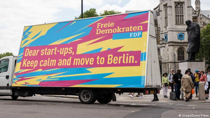 Germany's Free Democrats encouraged British startups to move to Berlin after Brexit
