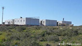 Bilder aus Flüchtlingslager auf Lampedusa