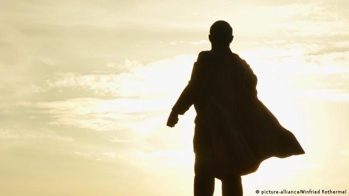 Статуя на Ленин