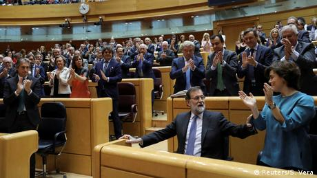 DW: Αναστολή του αυτοδιοίκητου της Καταλονίας