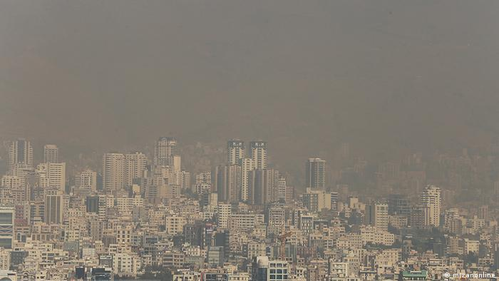Luftverschmutzung in Teheran (mizanonline)