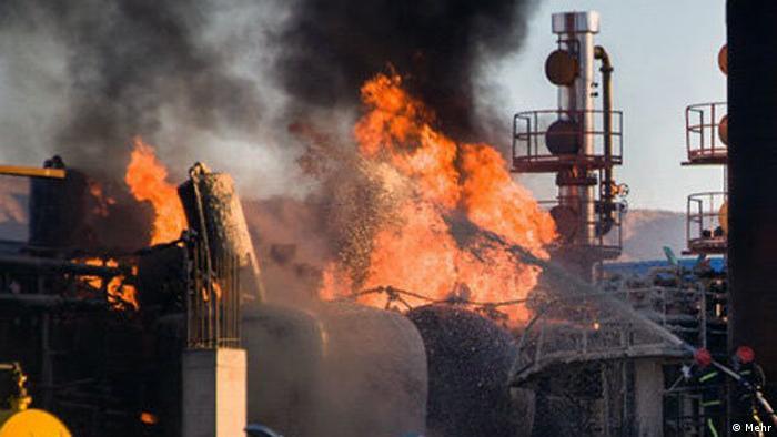 Iran Ölraffinerie (Mehr)