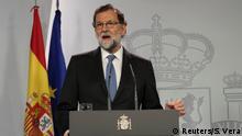 Spanien PK Ministerpräsident Mariano Rajoy in Madrid