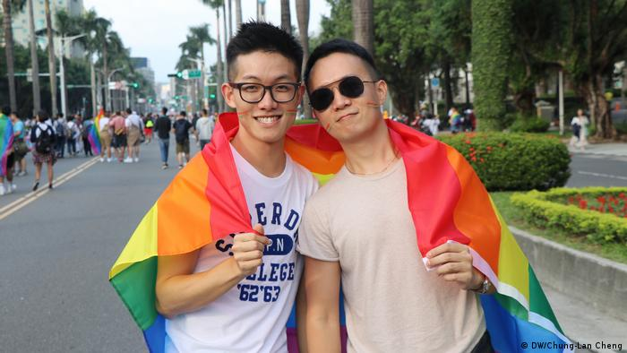 Gay marriage supporters from Shaghai