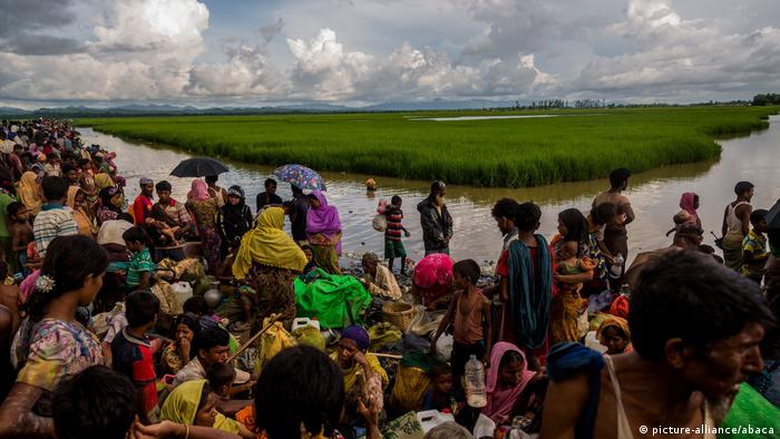 Myanmar Flucht Rohingya (picture-alliance/abaca)