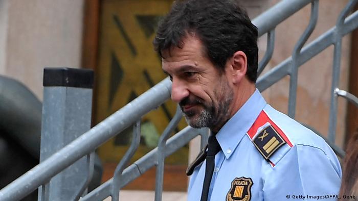 Ferrán Lopez, der neue Polizeichef in Katalonien (Foto: Getty Images/AFP/L. Gene)