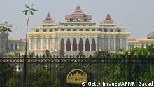Myanmar Parlament in Naypyidaw