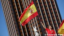 Spanien Demo für die Einheit Spaniens in Madrid