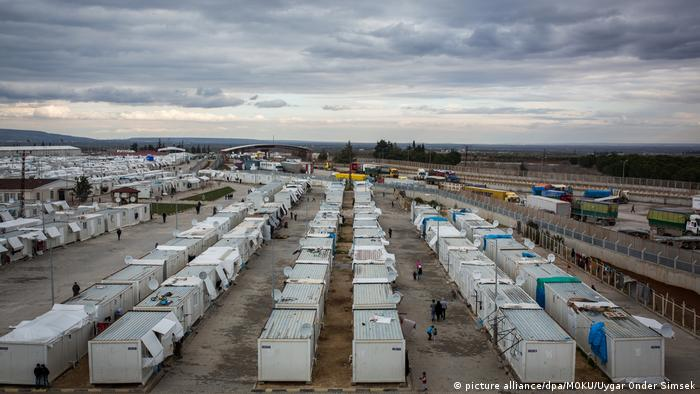 Προσφυγικός καταυλισμός στο Κιλίς, στα σύνορα Τουρκία-Συρίας
