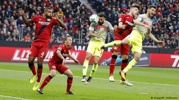 Fussball Bundesliga Bayer Leverkusen - 1. FC Köln